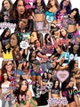 AJ Lee , Collage