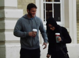 AJ Lee and CM Punk in London
