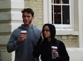 AJ Lee and CM Punk in London - aj-lee photo