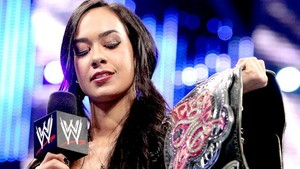AJ Lee loves her Divas titel