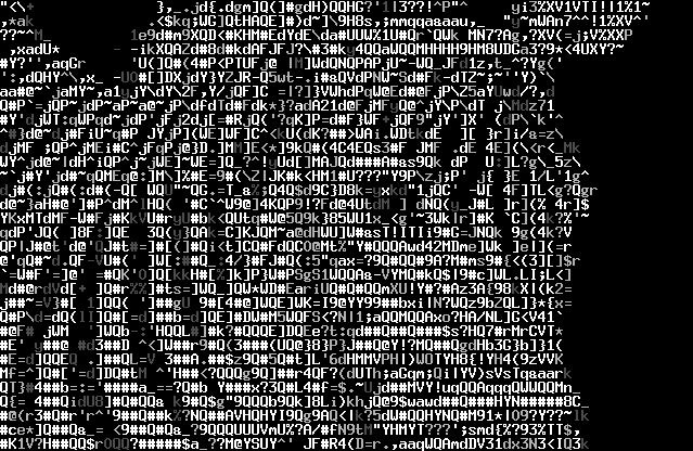 Ascii Art Images Bb Ascii Art Screenshot Zebrapng Wallpaper And
