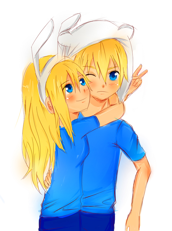 Adventure Time With Finn And Jake Wallpaper Possibly Containing Anime Titled