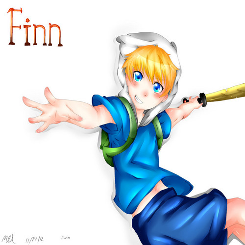 Adventure Time With Finn and Jake wallpaper titled Finn The Human