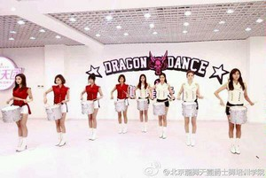Afterschool recording on MTV china