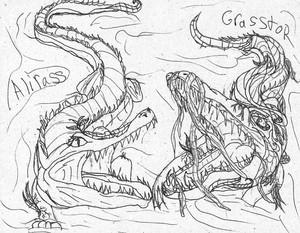 Alirass, Grasstor, and Aligor