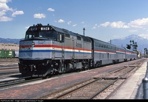 Amtrak F40PH