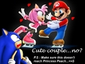 Amy x Mario(?!?!) - sonic-the-hedgehog photo