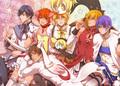anime crossover - anime fan art