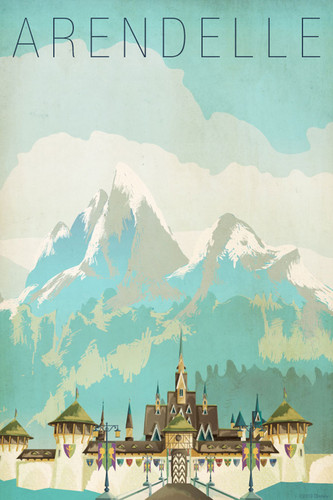 Frozen wallpaper entitled Arendelle