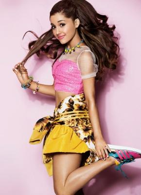 Ariana Grande Ben Watts for Seventeen Magazine Cover Shoot