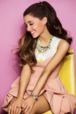 Ariana Grande Ben Watts for Seventeen Magazine Cover Shoot