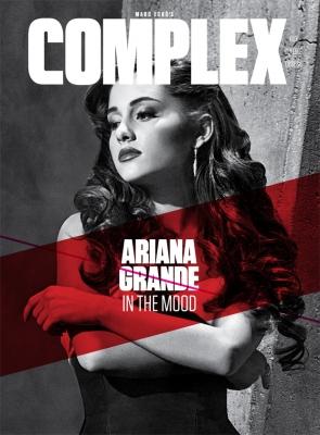 Ariana Grande Complex Magazine Cover Shoot bởi Gavin Bond
