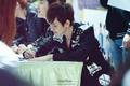 Baekhyun Jongro Fansign 120427 - baek-hyun photo