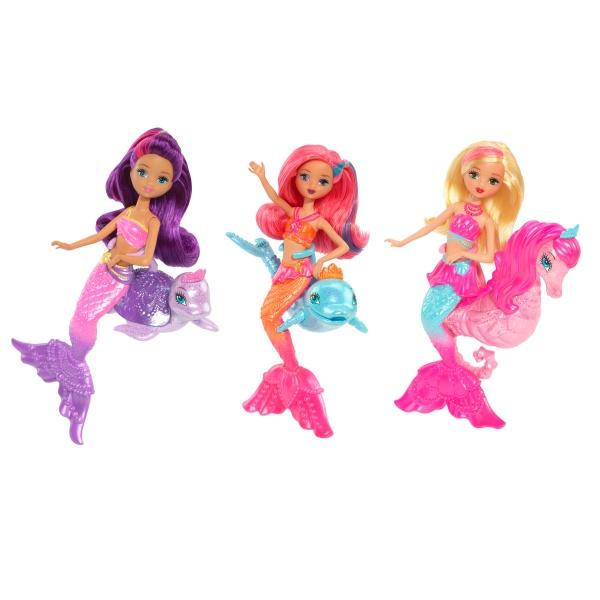 búp bê barbie Mermaid With Pet