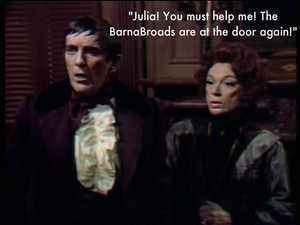 Barnabas and Julia Fan Art