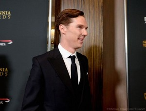 Benedict at the Britannia Awards - 2013