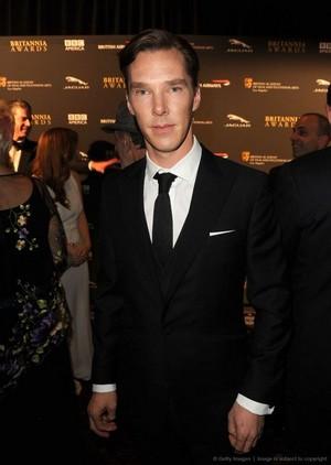 Benedict at the Britannia Awards - 2013