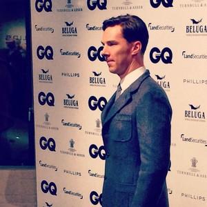 Benedict at the British GQ Awards