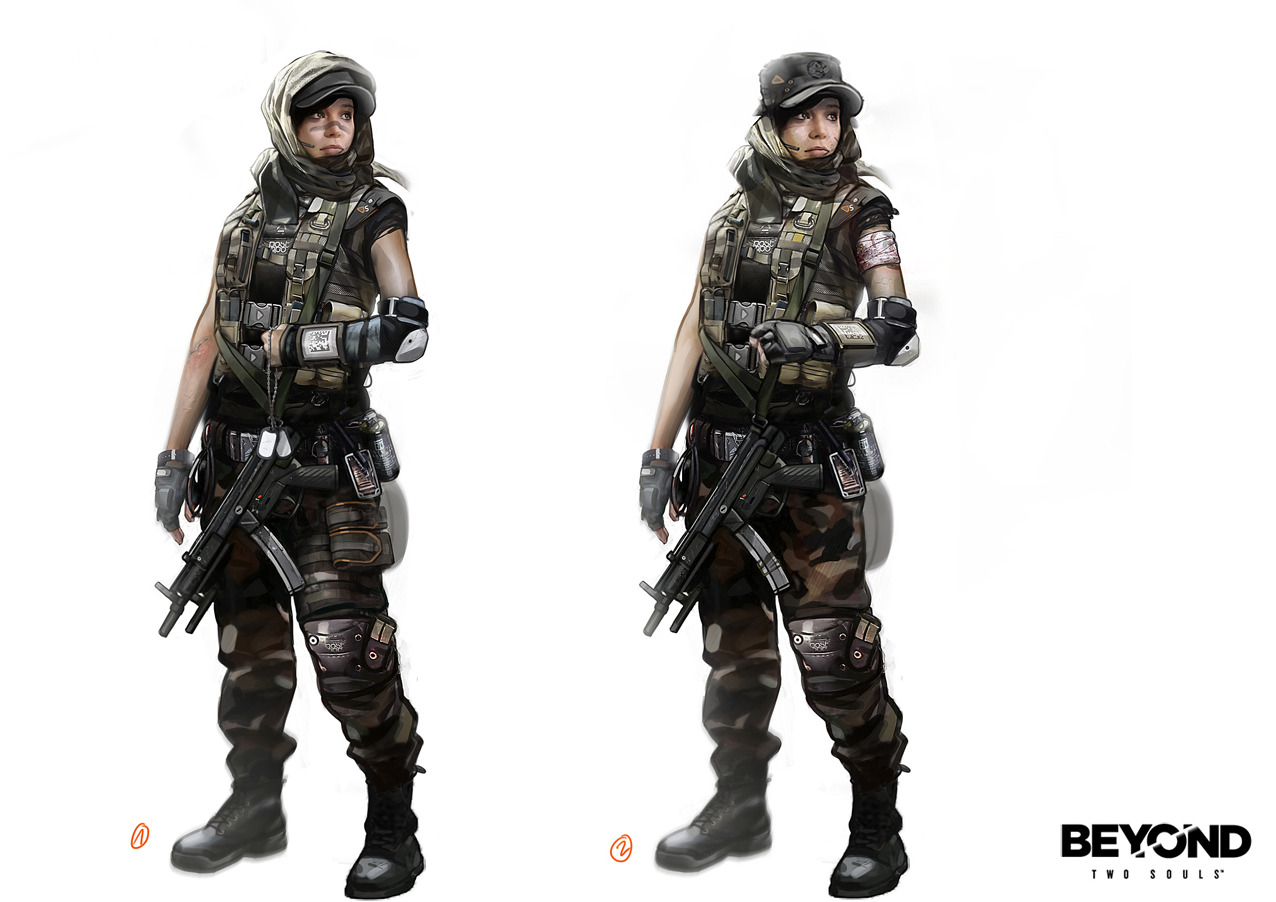 The Mission Outfits Beyond Two Souls Photo 36095280
