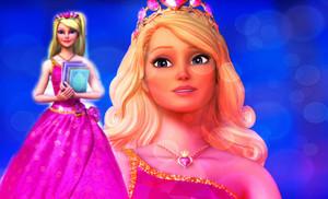 Blair's Pink Princess Gown