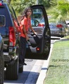 Blanket was spotted while out and about in Calabasas, on Saturday, August 24, 2013 :)