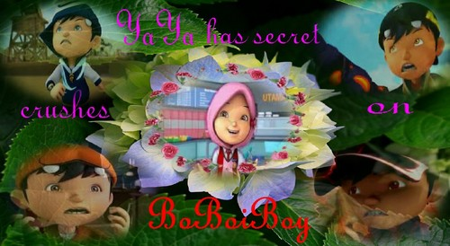 Boboiboy achtergrond possibly containing a bouquet entitled BoBoiBoy achtergrond i made myself