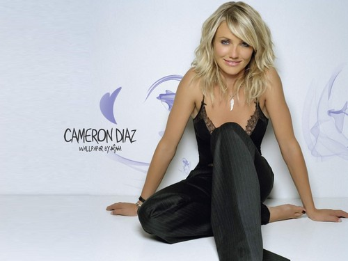 Cameron Diaz karatasi la kupamba ukuta containing a cocktail dress entitled Cameron Diaz