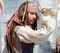 On the set of POTC 3 - captain-jack-sparrow photo
