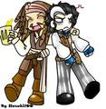Rum mate savvy? :) - captain-jack-sparrow fan art
