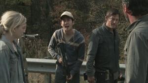 Carol Screencap, '2x13: Beside the Dying Fire'