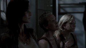 Carol Screencap, '3x01: Seed'