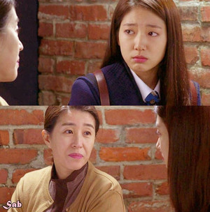 Cha Eun Sang with her Mom