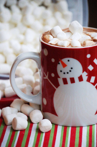 Christmas Hot Cocoa Wallpaper