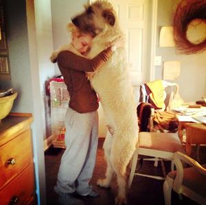 Clare&Dog