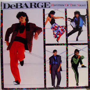 "1985 DeBarge Motown Release, ""Rhythm Of The Night"""