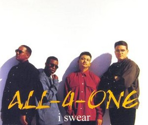 "All-4-One Promo Ad For ""I Swear"""