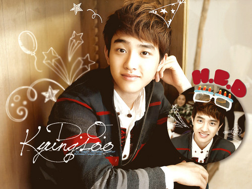 D.O wallpaper probably containing a well dressed person and an outerwear called ♥ Kyungsoo! ♥