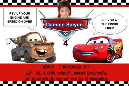 डिज़्नी पिक्सार कार्स वॉलपेपर possibly with ऐनीमे entitled DAMIEN