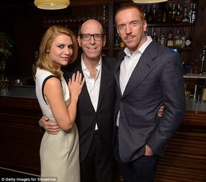 Claire Danes and Damian Lewis attend a private reception