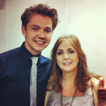 Damian & Moya Brennan in Derry June 2013 - damian-mcginty photo