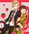 Kuzuryuu and Souda