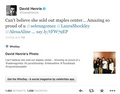 David's Tweet Nov 7,2013