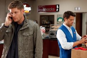 Dean and Castiel (Heaven Can't Wait)