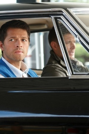 Dean and Castiel (Heaven Can't Wait)