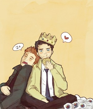 Dean and Castiel ♡