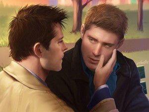 Dean and Castiel ღ