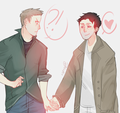 Dastiel , Ship - dean-and-castiel fan art