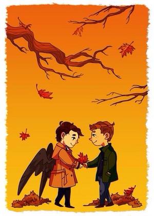 Dean and Castiel ☆
