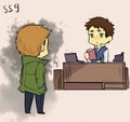 Dean and Castiel ✔ - dean-and-castiel fan art
