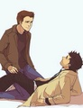 Dean and Castiel ❤ - dean-and-castiel fan art